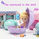 Winkey Toy for 3 4 5 6 7 8 9 + Years Old Kids Girls Boys, Confetti Pop Marvelous Marine Surprise Shell Dolls Marine Series Random For Kids