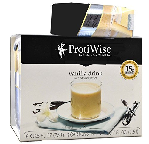 ProtiWise - Anytime Protein Drink - Vanilla (6/Box)