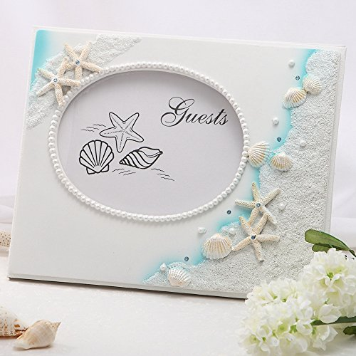 KateMelon Wedding Accessories Beach Theme Guest Book