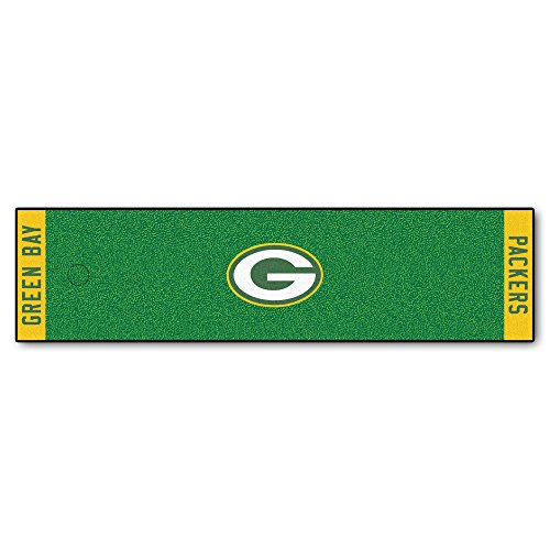 FANMATS NFL Green Bay Packers Nylon Face Putting Green Mat