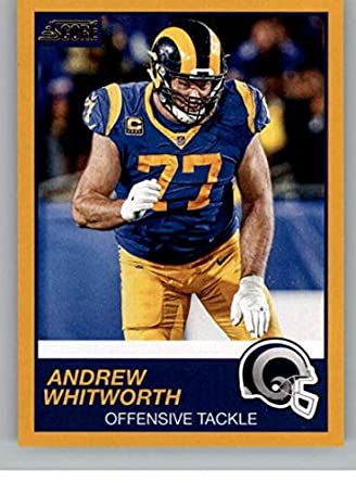 premium selection aba2e 0d618 Amazon.com: 2019 Score Gold Football #327 Andrew Whitworth ...