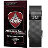 Ace Armor Shield Shatter Resistant Screen Protector for the Fitbit Charge HR (9 Pack) with free lifetime replacement warranty
