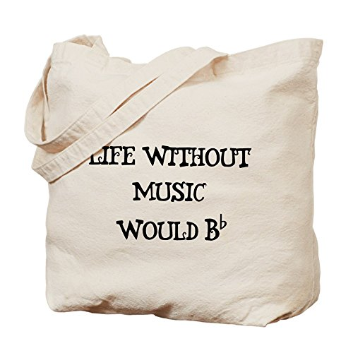 Natural By Tote Cloth Bag Music Bag Shopping Without Canvas Life Cafepress qfwFZ1t