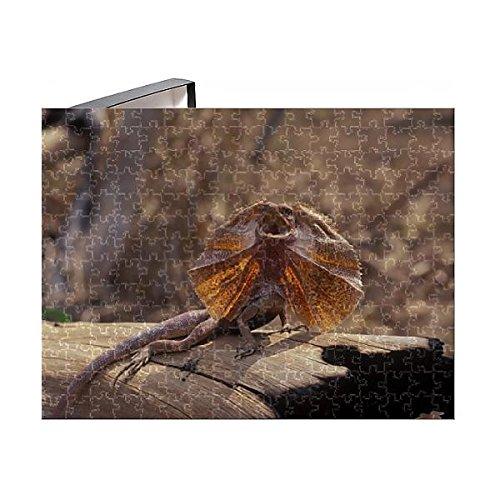 Media Storehouse 252 Piece Puzzle of Frilled Lizard (Chlamydosaurus kingii) -