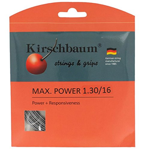 Kirschbaum Reel MAX Power String, Grey, 16-Gauge