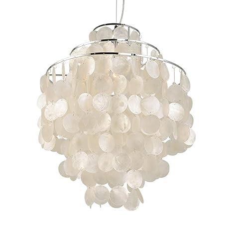 Modern cromo lámpara colgante decorativa colgante lámpara ...