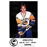Doug Kyle Hockey Card 1983-84 Saskatoon Blades #20 Doug Kyle