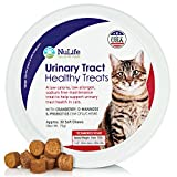 Maintain your cat's Urinary Tract Health with Nulife Urinary Tract Healthy Treats.Your Pets Will Love This Because:   • Contains cranberry oil, a UTI preventative maintenance treat for cats that contain omega-3 and omega-6 fatty acids• Great tasting ...