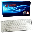 Laptop Keyboard Sony VAIO VGN-NS230E/S VGN-NS230E/W VGN-NS230TE VGN-NS235D VGN-NS235D/L VGN-NS235D/P VGN-NS235D/P (Loreso Replacement Part) - (White)