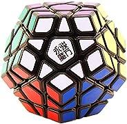Cubo Mágico Megaminx Yuhu YJ Preto - Cubo Store
