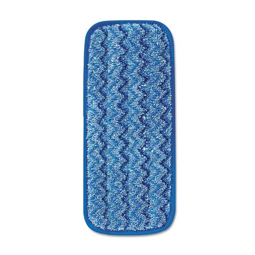 Rubbermaid FGQ82000BL00 HYGEN Blue Microfiber 11 In. Pad for Q520 H&PC-78332