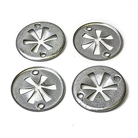 10 X FORD Metal Locking Star Washers Underbody Heat Shield Fasteners
