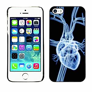 Shell-Star ( Heart X Ray ) Snap On Hard Protective Case For Apple iPhone 6 4.7