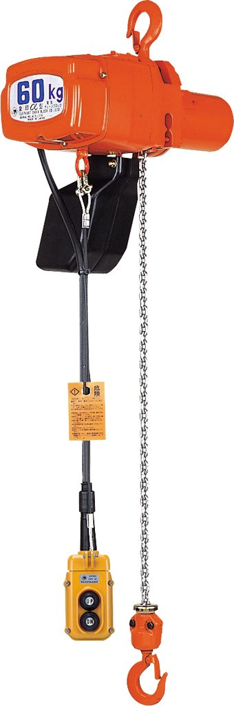 象印チェンブロック 単相100V電気チェーンブロック アルフアSV-025-3M(ASV-K2530)