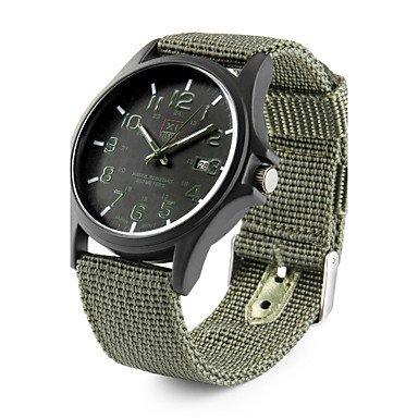 XKC-watches Relojes para Hombres, Hombre Mujer Pareja Reloj de Pulsera Reloj Militar Reloj