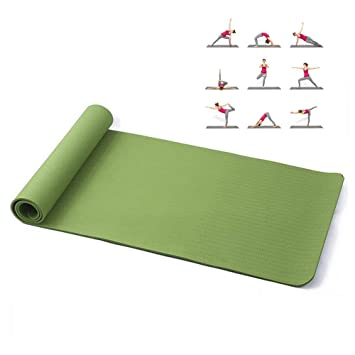 Amazon.com: AOLI Gym Home Outside Yoga Mat Fitness Goat Yoga ...