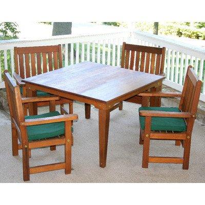 Cedar Get Together 5 Piece Dining Set Size: 36