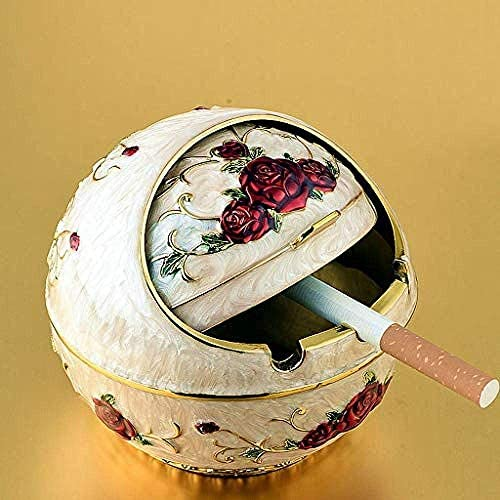 葉巻灰皿, スモークカバー自宅で灰皿ボール合金亜鉛プラグ