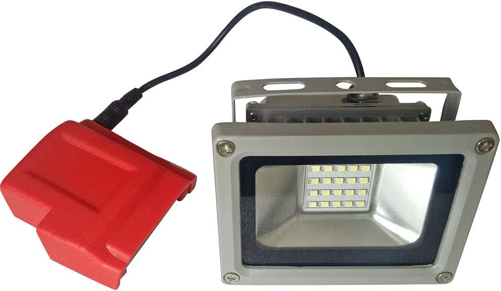 LED Light/&USB Ports Battery Charger Adapter Adaptor for Milwaukee 49-24-2371 M18 by Nstcher