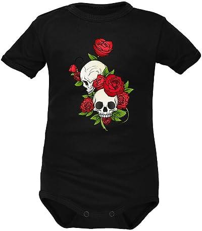 body bébé tête de mort 2