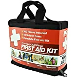 Best First Aid kits - 300 Piece First Aid Kit w/ Bag Review