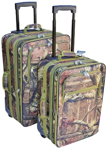 EXPLORER Luggage Set (2-Piece), 20 x 15 x 11-Inch/24 x 17 x 12-Inch, Mossy Oak Review