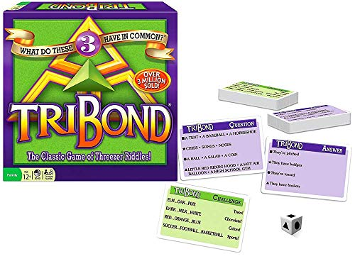 Winning Moves Games Tribond Riddle Game