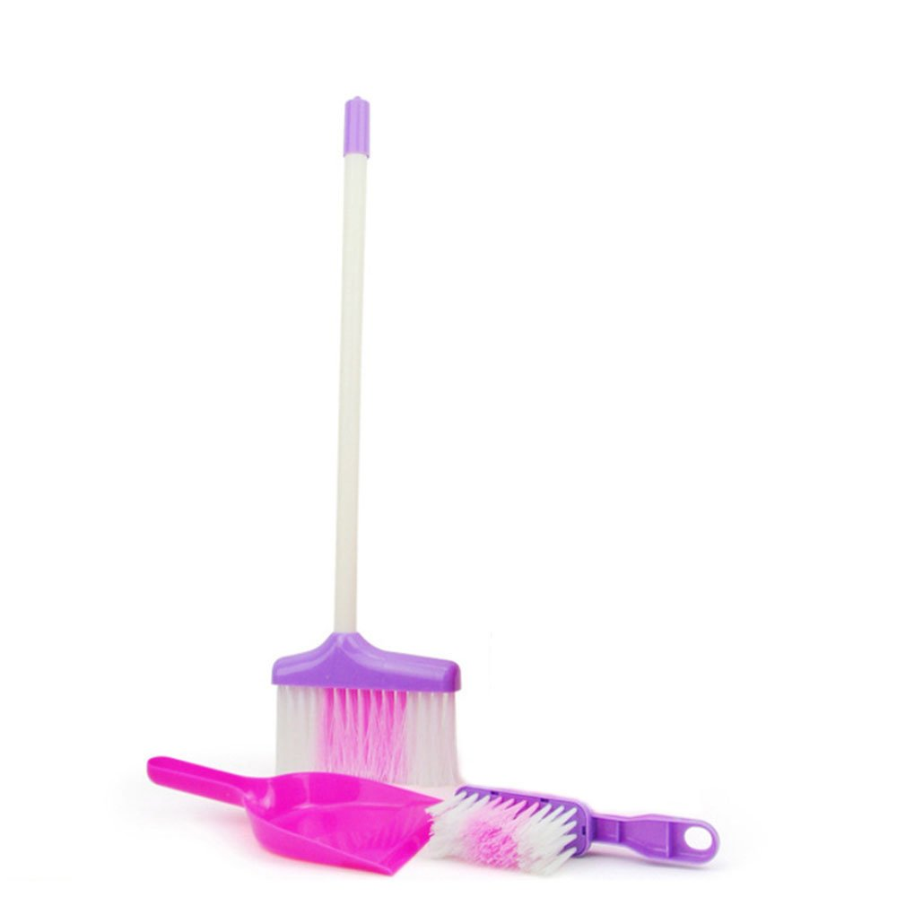 Little Helper ! Kids Cleaning Set for Toddlers,Includes 5 Cleaning Toys Broom & Mop,Brush,Dust Pan,Water Bucket Gift Set Bundle by C360 (Image #4)