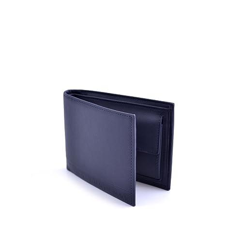 Calvin Klein cartera hombre en ecopiel Azul, modelo DBI. DOS ...