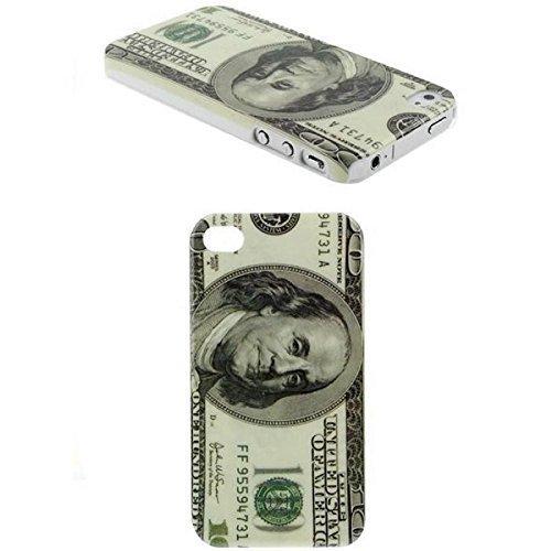 Schutzhülle Hard Case Hülle für Handy iPhone 4 & 4S US Dollar