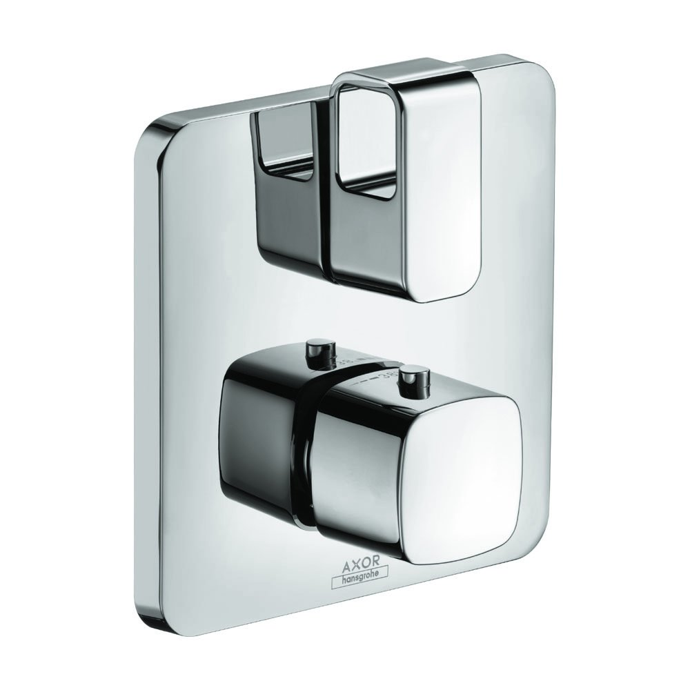 AXOR 11733001 Urquiola Thermostatic Trim with Volume Control and Diverter, Chrome