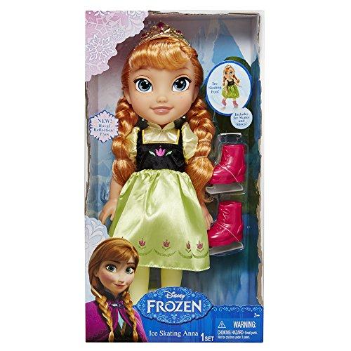 Disney Fairies DEJK31016 - Frozen Puppe Anna mit Schlittschuhen
