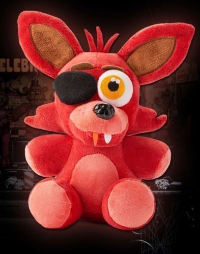 Shalleen Hot FNAF Five Nights at Freddy's FOXY PIRATE Plush Toy 10