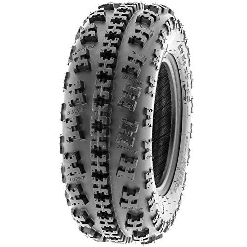 Set of 4 SunF A027 ATV Tire 22x7-10 Front & 22x10-9 Rear by SunF (Image #4)