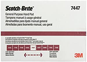 Amazon.com: 3M Scotch-Brite General Purpose Hand Pad, 6-Inch by 9-Inch, 20-Pad: Home Improvement