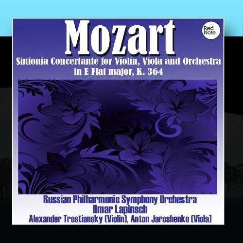 Mozart: Sinfonia Concertante for Violin, Viola and Orchestra in E Flat major, K. (Concertante Viola)