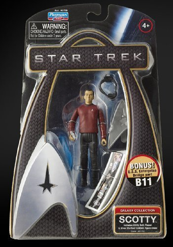 Star Trek Movie Playmates 3 3 4 Inch Action Figure Scotty (Enterprise Uniform) by PLAYMATES