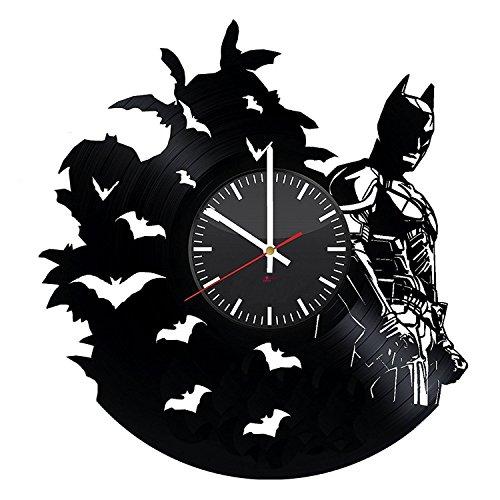[Vinyl Record Wall Clock] (Costume Catwoman Vinyl)