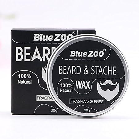 Men's Moustache Wax, Facial Shaving Beard Cream Beard Care Men' s Moustache Wax Leoie
