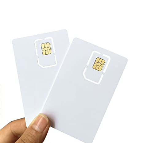 AHongem - Tarjeta SIM en blanco programable para operador de ...