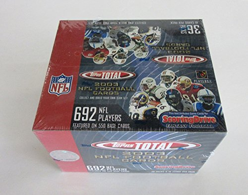 (2003 Topps Total Football Box (Retail))