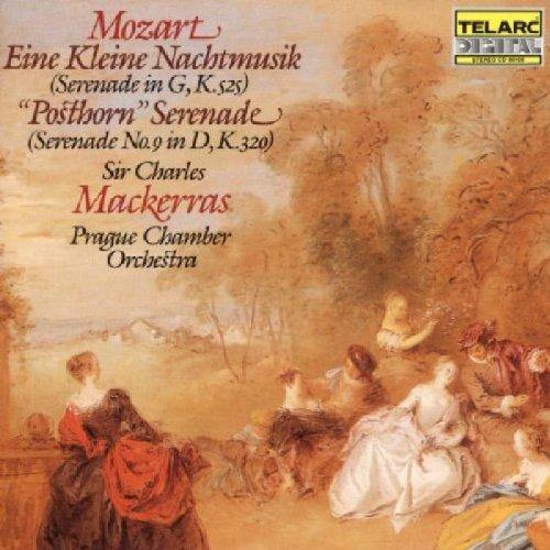 Mozart: Eine kleine Nachtmusik & Posthorn Serenade by Mackerras/Prague CO (2003-05-03) (Kleine Ti)