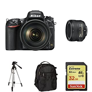 Nikon D750 with 24-120mm and 50mm Lens + Free Accessories (B00PBYCDBO) | Amazon price tracker / tracking, Amazon price history charts, Amazon price watches, Amazon price drop alerts