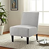 Serta UPH10022A Palisades Slipper, Accent Chair, light gray