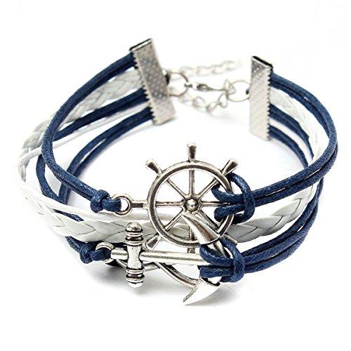 Anchor Rudder Bracelets - 4