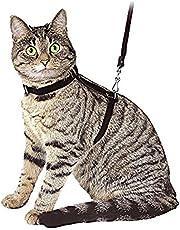 Ducomi Silvestro - Arnés Ajustable con Correa para Gatos, Conejos y Cachorros - Ideal en Paseos y Visitas al Veterinario - Accesorio para Mantener a Sus Mascotas Seguras