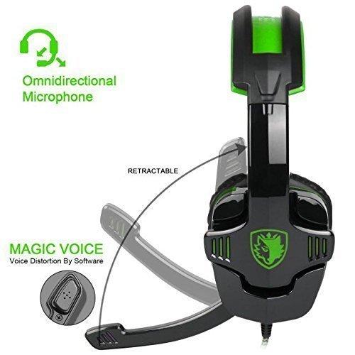 SADES Multi Platform Headset Headphone Microphone