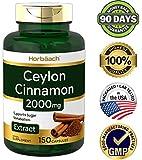 Ceylon Cinnamon Capsules | 2000 mg | 150 Count