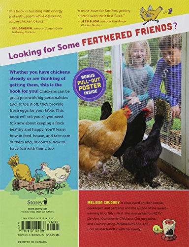 A Kid's Guide to Keeping Chickens: Best Breeds, Creating a Home, Care and Handling, Outdoor Fun, Crafts and Treats by Storey Publishing, LLC (Image #1)