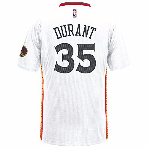 Adidas NBA Men's-Kevin Durant #35-Golden State Warriors-S...